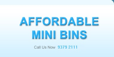 Affordable Mini Bins Logo